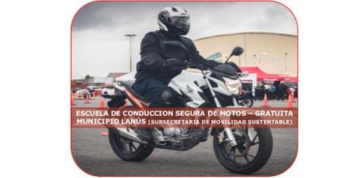 ESCUELA DE CONDUCCION SEGURA DE MOTOS (TEÓRICO - P