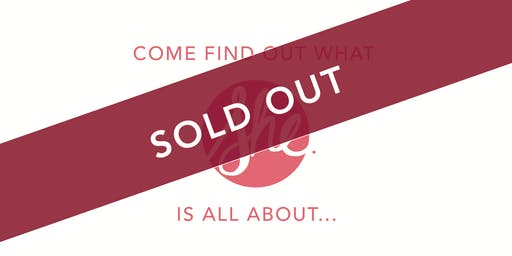 *SOLD OUT* She Inspires Launch Event!
