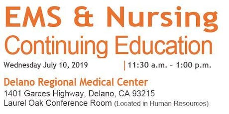 EMS & Nursing Continuing Education tickets