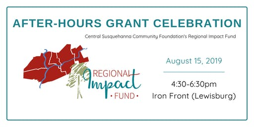 Regional Impact Fund After-Hours Grant Celebration