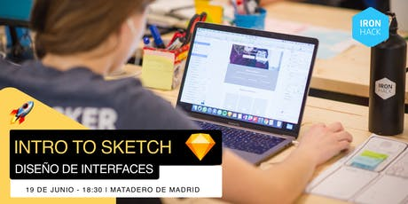 Intro to Sketch - Diseño De Interfaces tickets