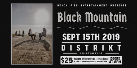 Black Mountain tickets