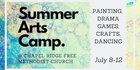 Summer Arts Camp tickets