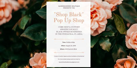 "QueenSheeMee Boutique Presents The ""Shop Black"" Pop Up Shop tickets"