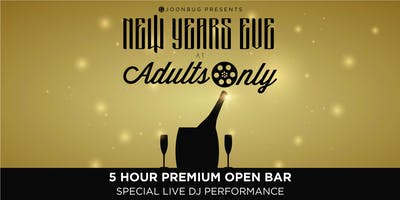 Joonbug.com Presents Adults Only New Years Eve Party 2020