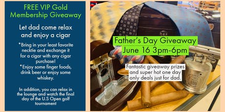 Father's Day Giveaway tickets