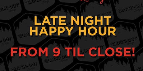 Late Night Happy Hour tickets
