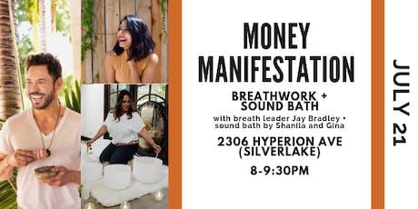 Money Manifestation Breathwork + Sound Bath tickets