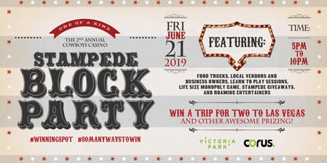 Stampede Block Party tickets