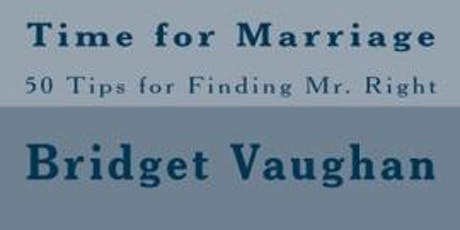 Book signing - Time for Marriage tickets