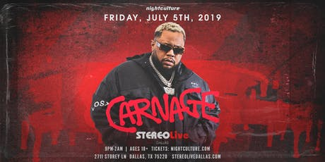 Carnage - Dallas tickets