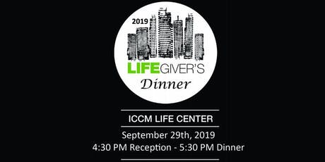 LifeGiver's Dinner 2019 tickets
