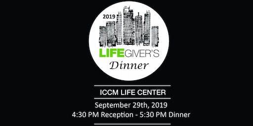LifeGiver's Dinner 2019