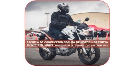 ESCUELA DE CONDUCCION SEGURA DE MOTOS (TEÓRICO - P entradas