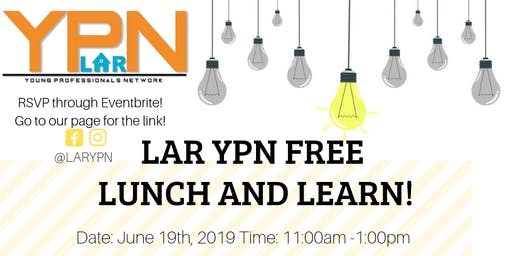 LAR YPN Free lunch and Learn - Clint Pardoe