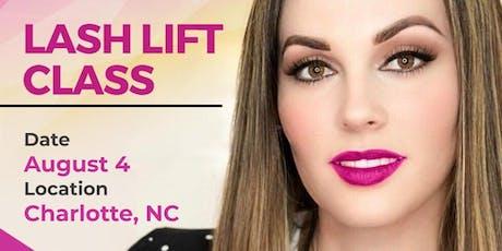 LASH LIFT CLASS - CHARLOTTE, NC tickets