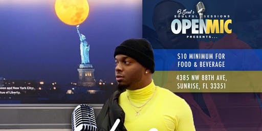 Open Mic Thursdays Presents Vibes With Blue