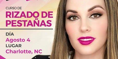 Curso de Rizado de Pesta˜nas - Charlotte, NC tickets