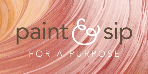 Paint & Sip for a Purpose