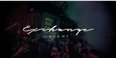 EXCHANGE MIAMI - PARTYBUS + OPEN BAR tickets
