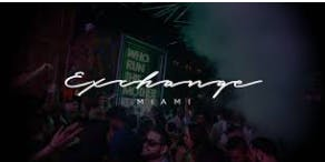EXCHANGE MIAMI - PARTYBUS + OPEN BAR