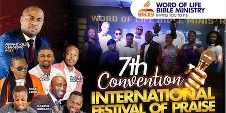 International Festival Of Praise tickets