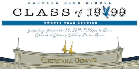 Eastern High School, Class of 1999, 20 Year Reunion tickets