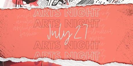 Arts Night 2019 tickets
