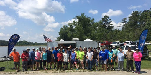 Heroes on the Water Ft. Gordon Chapter Saturday, July 13, 2019 IBEW Lake Property