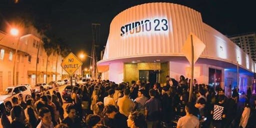 STUDIO 23 MIAMI- PARTYBUS + OPEN BAR