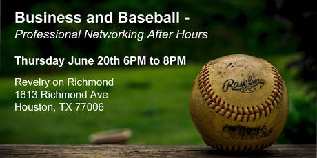 Business and Baseball - Professional Networking After Hours tickets