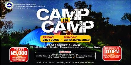 CAMP IN CAMP tickets
