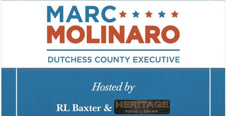 A Night at Heritage for Marc Molinaro  tickets