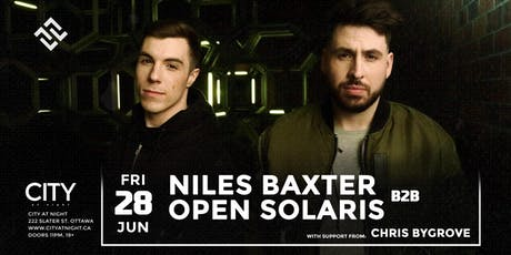 Niles Baxter B2B Open Solaris at City At Night tickets