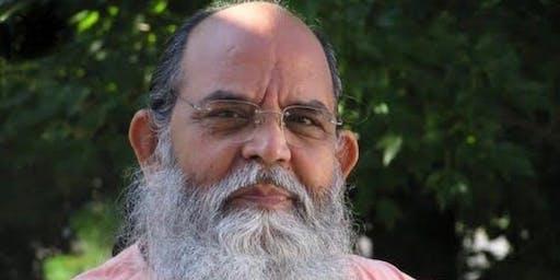 Encontro sobre Felicidade com Swami Anubhavananda e Marcos Rojo