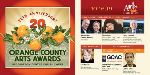 20th Annual Orange County Arts Awards