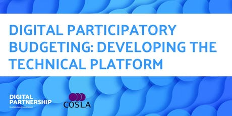 Digital Participatory Budgeting: Developing the Technical Platform tickets