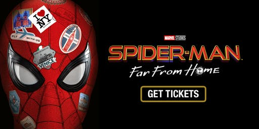 "Sensory Friendly Viewing of ""Spiderman: Far from Home"""