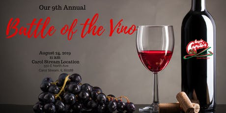 9th Annual Battle of the Vino tickets