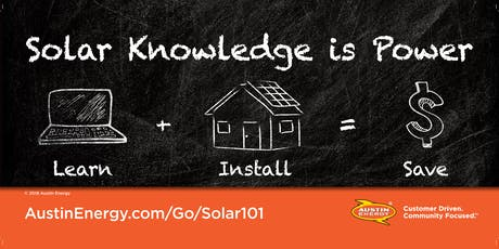 Imagine Austin Speaker Series: Solar Education 101 tickets