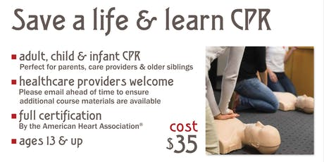 Get CPR Certified with Winter Park Fire-Rescue Department tickets