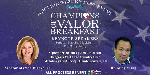 Champions of Valor Breakfast presented by Kimbro Air