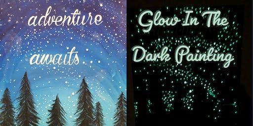 Adventure Awaits: Glow In The Dark Painting