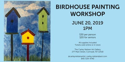Birdhouse Painting Workshop