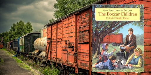 APR 16 or 17: The LitWits® Workshop on THE BOXCAR CHILDREN No. 1 by Gertrude Chandler Warner