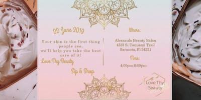 Love Thy Beauty's Sip & Shop