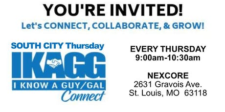 South City Thursday IKAGG CONNECT Weekly Meeting tickets