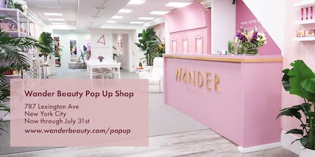 Wander Beauty x We Are Women Owned Summer Soiree - Pop-In Shop tickets