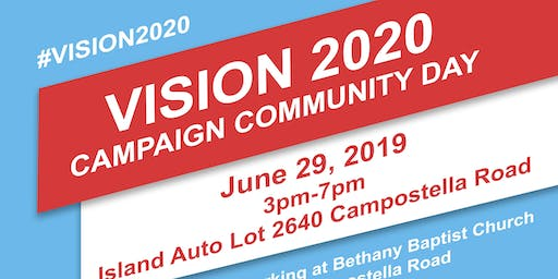 Vision 2020 Campaign Community Day