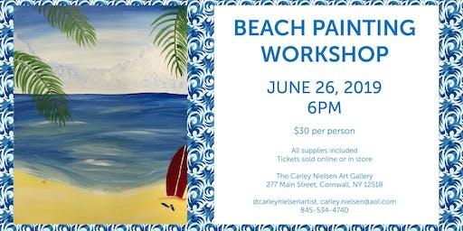 Beach Painting Workshop